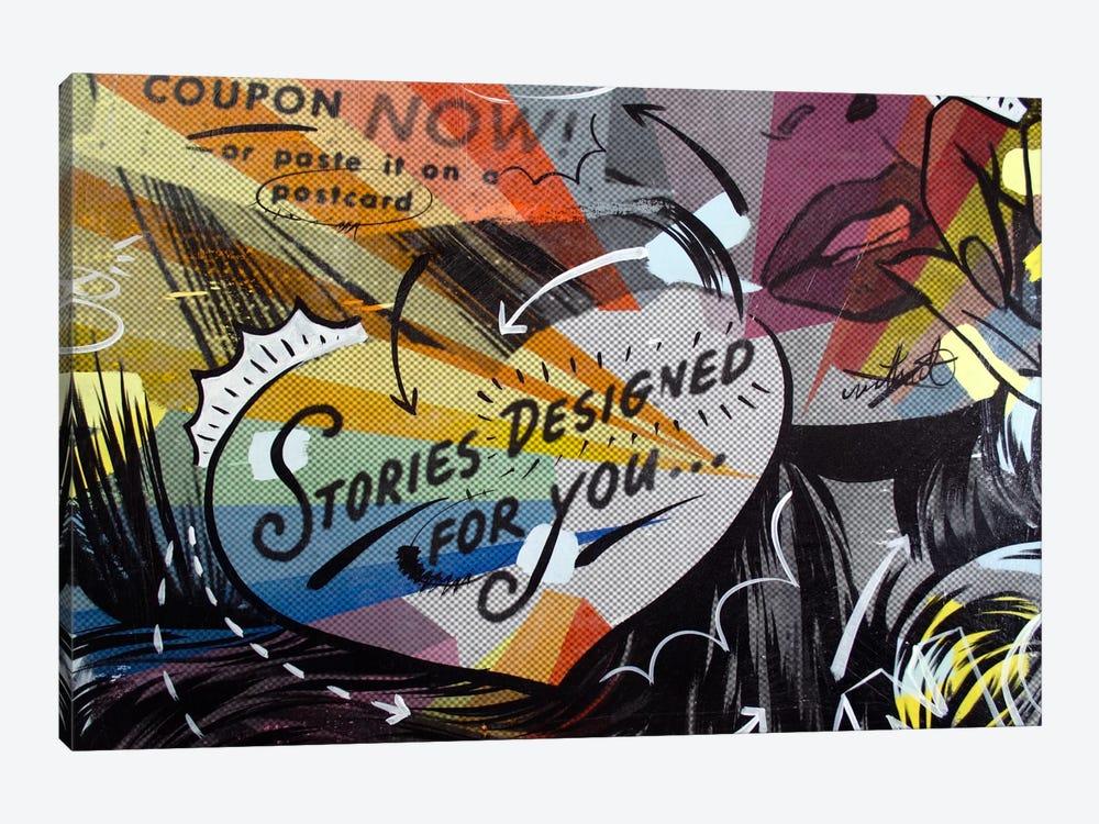 Coupon Stories by Dan Monteavaro 1-piece Canvas Print