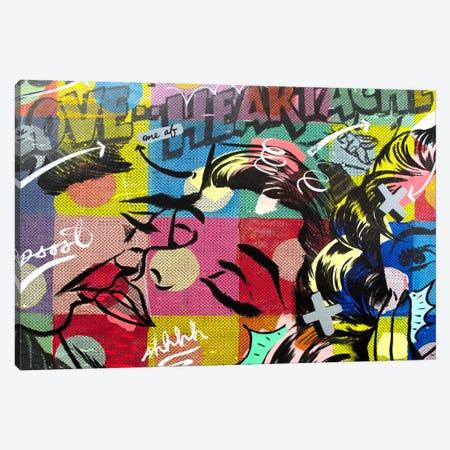 Fearless Heartache Canvas Print #14499} by Dan Monteavaro Canvas Artwork