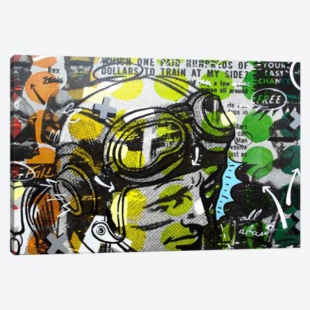 He Man Canvas Print #14500} by Dan Monteavaro Canvas Wall Art
