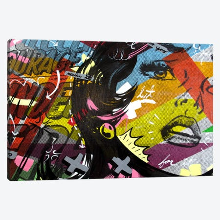 Left of Yes Canvas Print #14502} by Dan Monteavaro Canvas Art