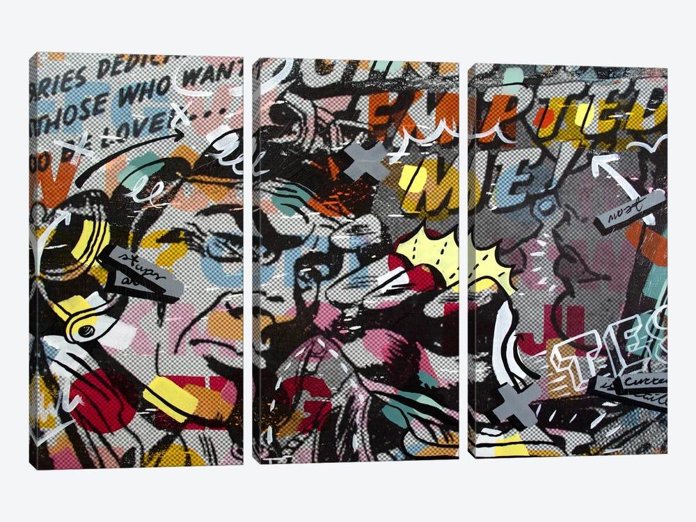 Mimosas by Dan Monteavaro 3-piece Canvas Wall Art
