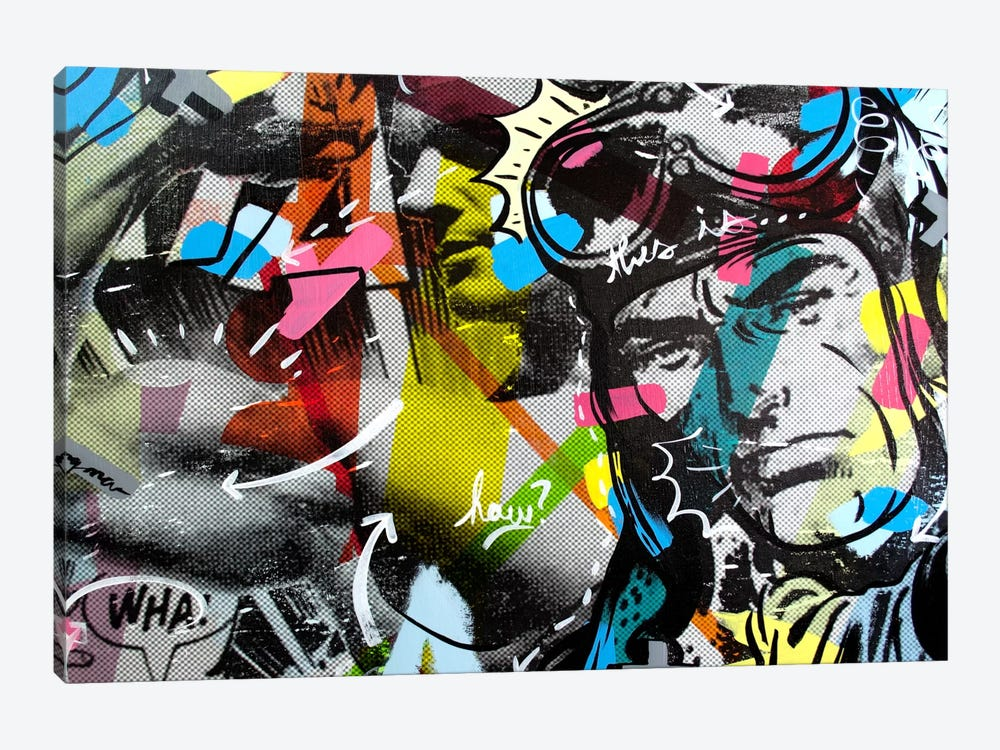 Strongman by Dan Monteavaro 1-piece Canvas Artwork