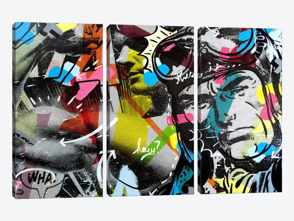 Strongman by Dan Monteavaro 3-piece Canvas Wall Art