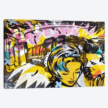 Surprise B 3-Piece Canvas #14507} by Dan Monteavaro Canvas Art Print