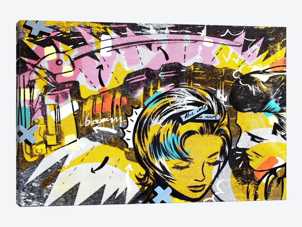 Surprise B by Dan Monteavaro 1-piece Canvas Art Print