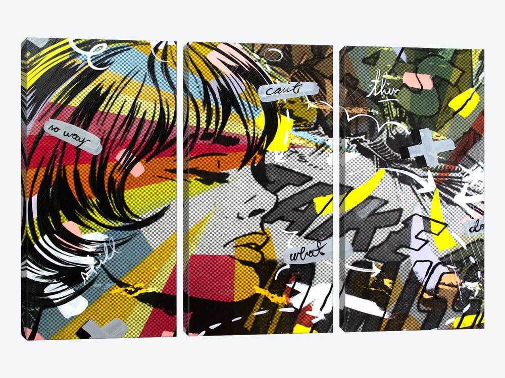 Take Away by Dan Monteavaro 3-piece Canvas Wall Art