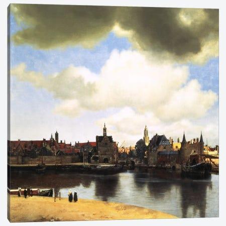 View of Delft, C.1660-61 Canvas Print #1450} by Johannes Vermeer Canvas Art Print