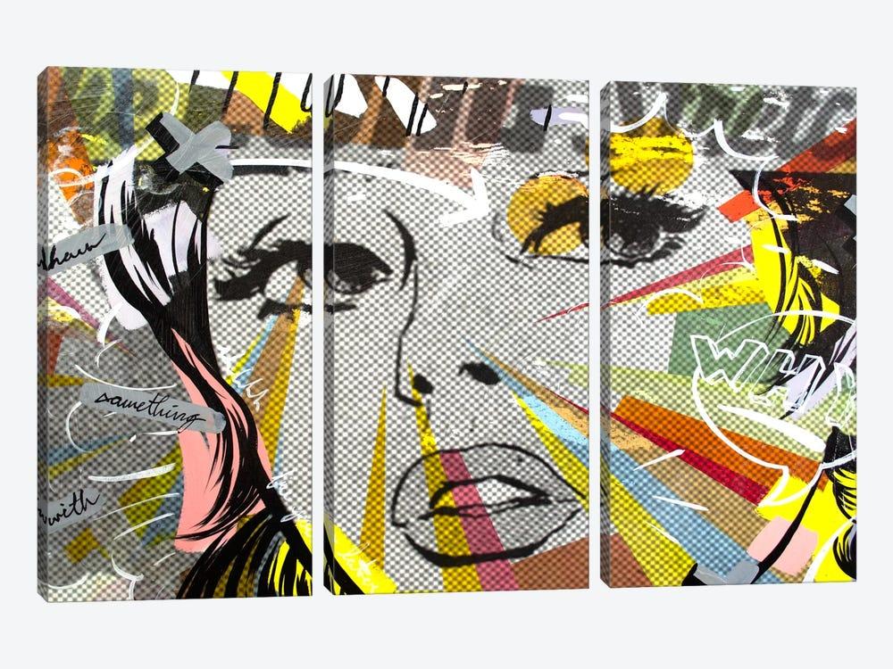 The Long Stretch by Dan Monteavaro 3-piece Canvas Print