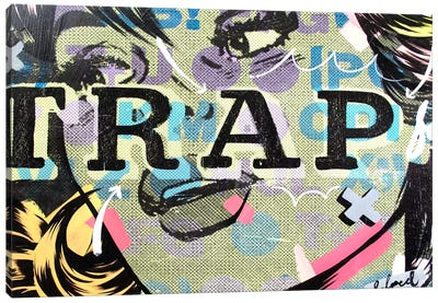 Trap Canvas Art Print