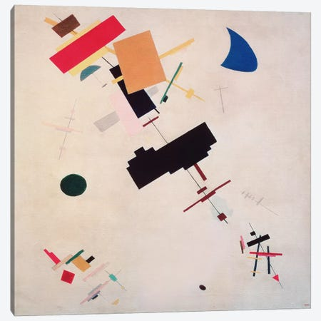 Suprematist Composition No.56, 1916 Canvas Print #1461} by Kazimir Severinovich Malevich Canvas Wall Art