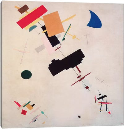 Suprematist Composition No.56, 1916 by Kazimir Malevich Canvas Wall Art