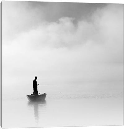 The Abyss Fisher Canvas Art Print