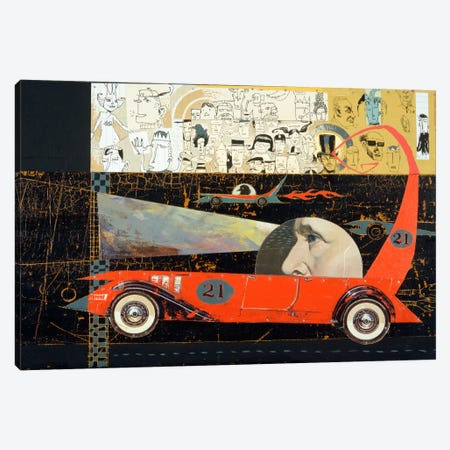 Car 21 Canvas Print #14672} by Anthony Freda Canvas Art