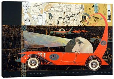 Car 21 Canvas Art Print