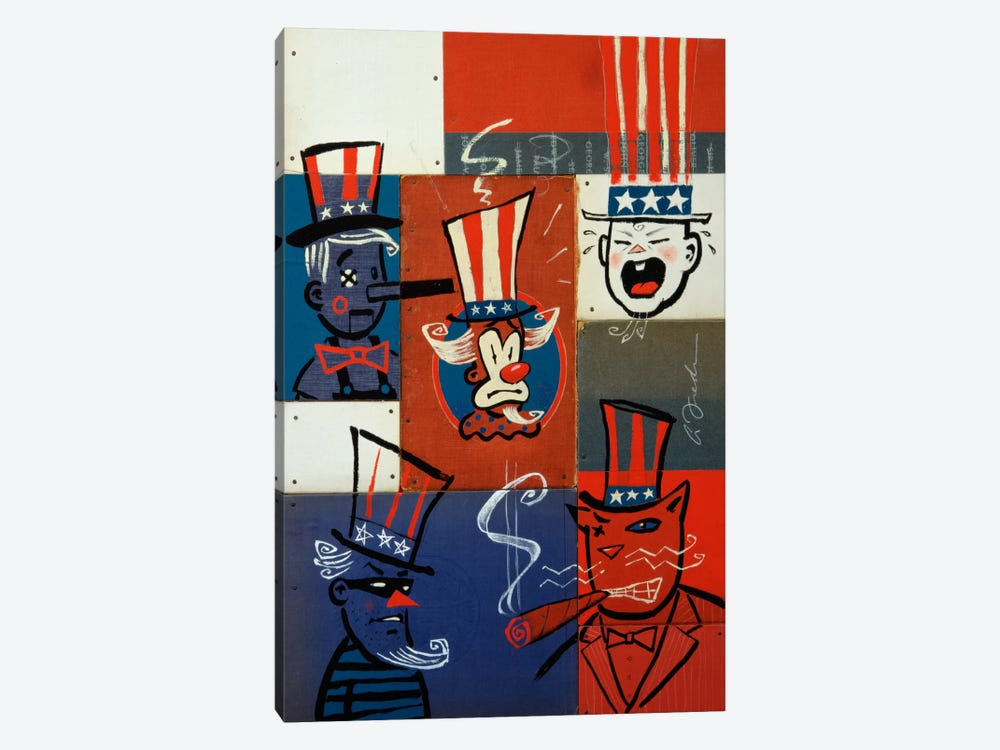 Congress by Anthony Freda 1-piece Canvas Wall Art