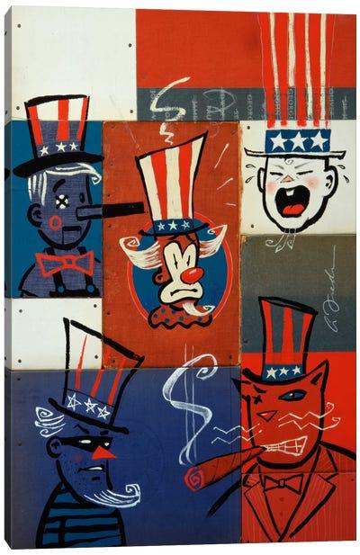 Congress Canvas Art Print