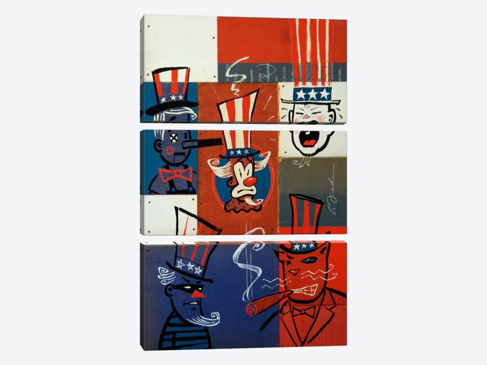 Congress by Anthony Freda 3-piece Canvas Wall Art