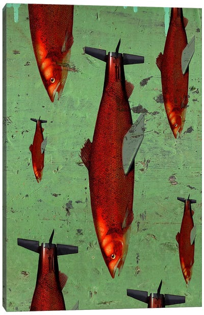 Fish Canvas Print #14674