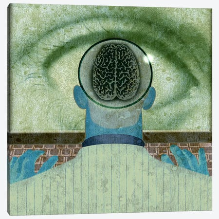 Minds Eye Canvas Print #14678} by Anthony Freda Canvas Art