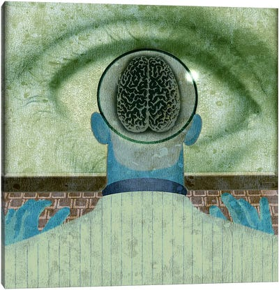 Minds Eye Canvas Art Print