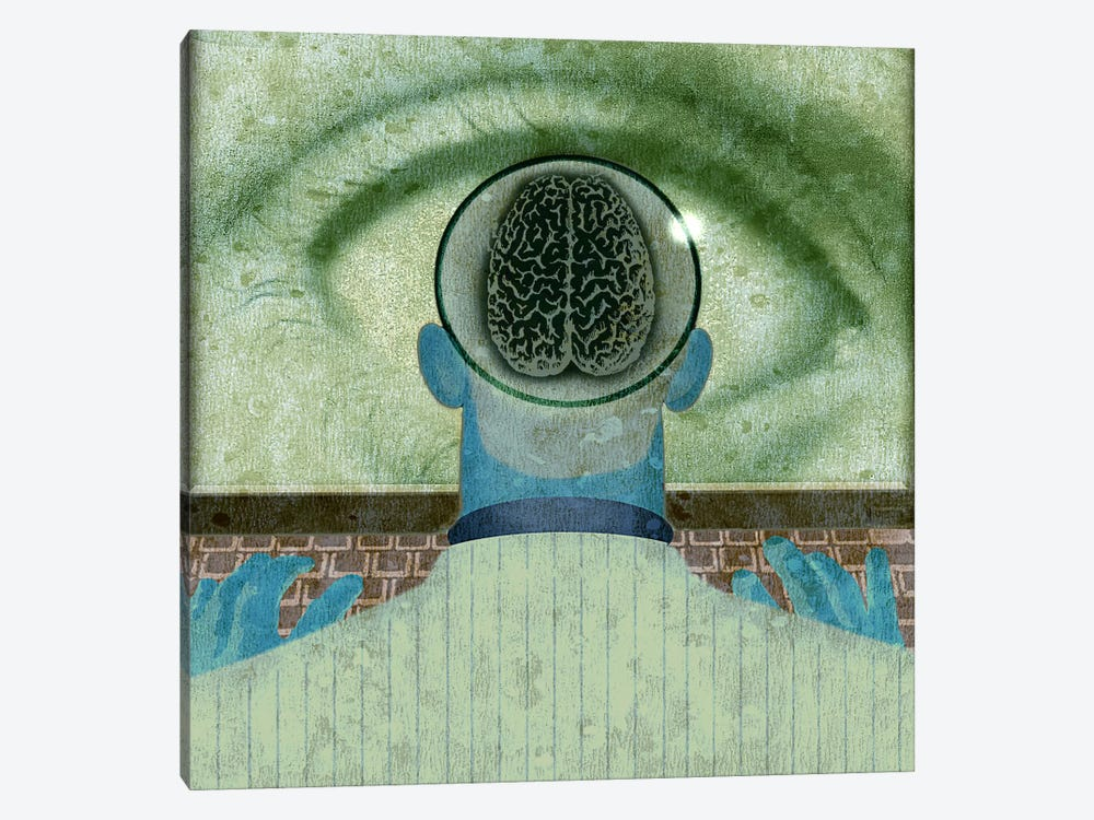 Minds Eye by Anthony Freda 1-piece Canvas Print