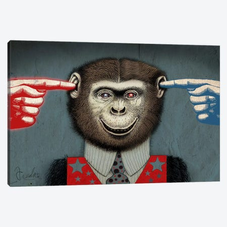 Monkey Canvas Print #14679} by Anthony Freda Canvas Artwork