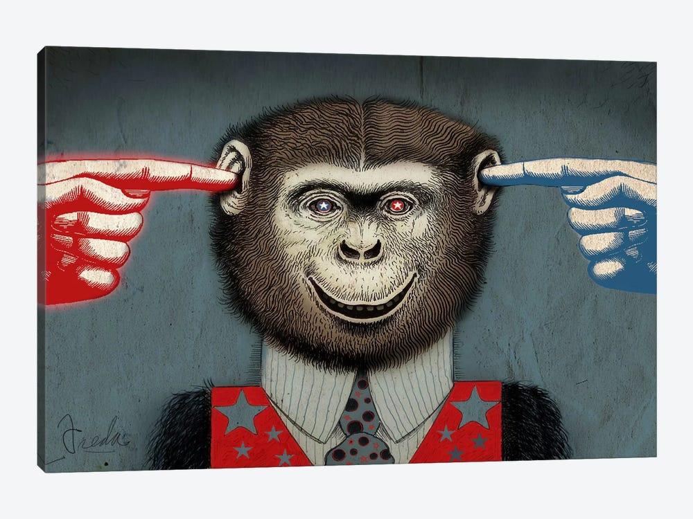 Monkey by Anthony Freda 1-piece Canvas Wall Art