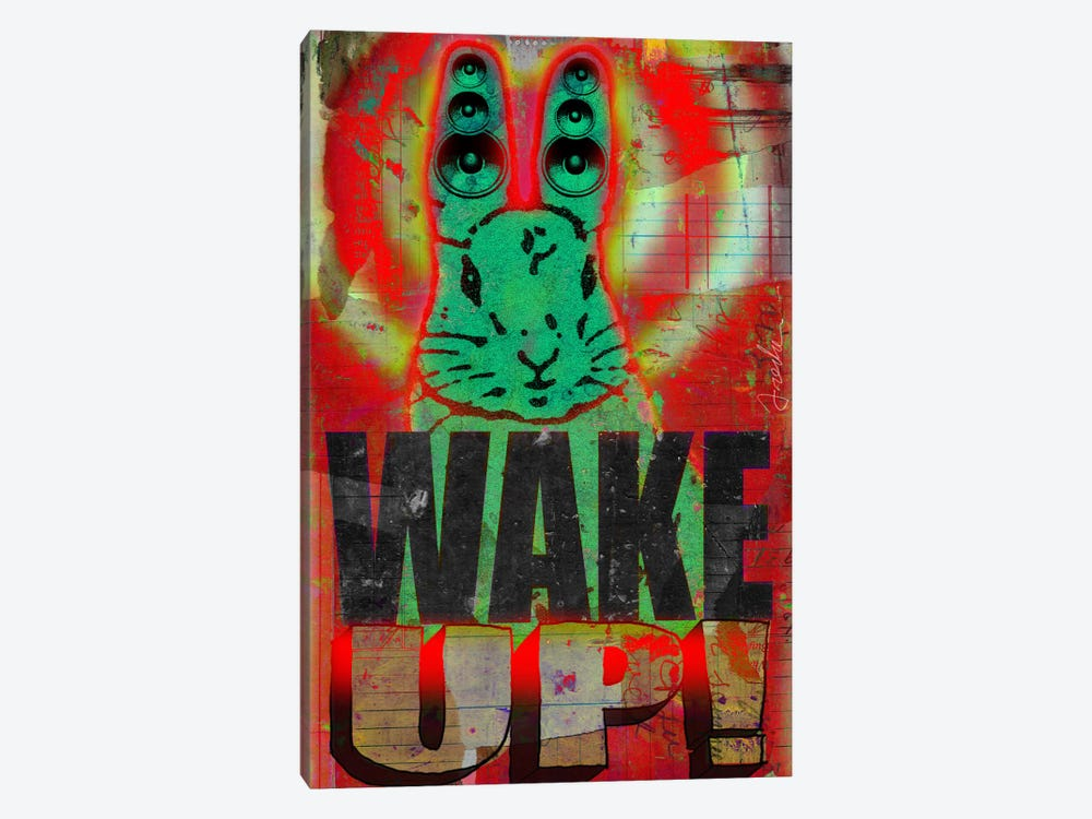 Wake Up 1-piece Canvas Wall Art