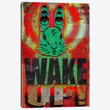Wake Up 3-Piece Canvas #14686} by Anthony Freda Canvas Artwork