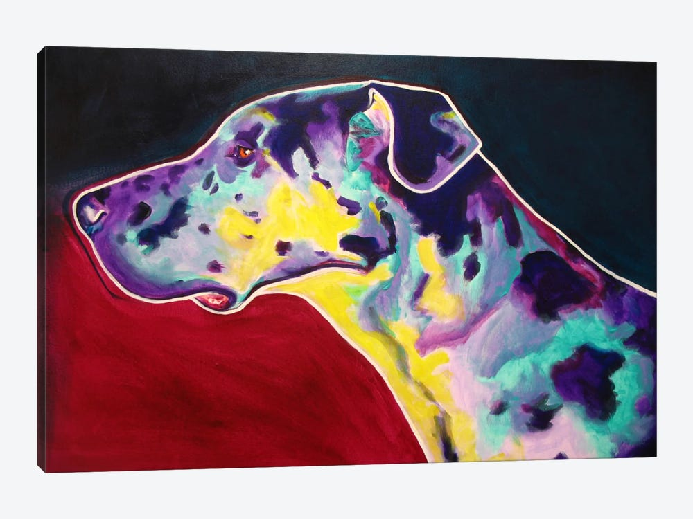 Boz by DawgArt 1-piece Canvas Wall Art