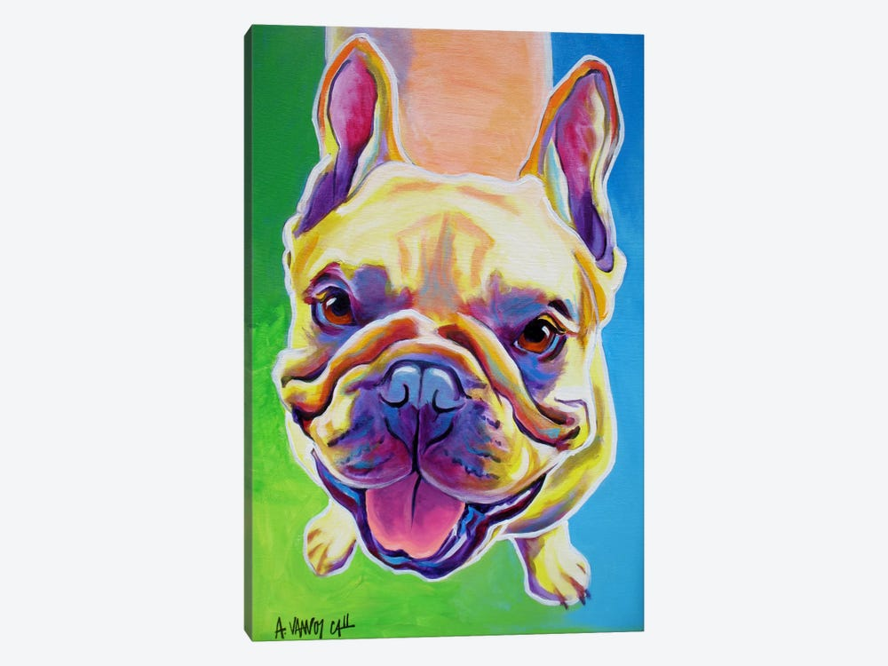 Ernest by DawgArt 1-piece Canvas Print