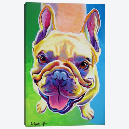 Ernest Canvas Print #14700} by DawgArt Canvas Wall Art