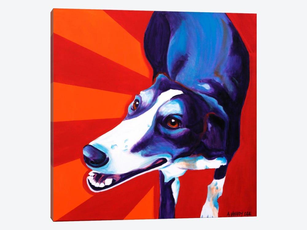 Evie by DawgArt 1-piece Canvas Art