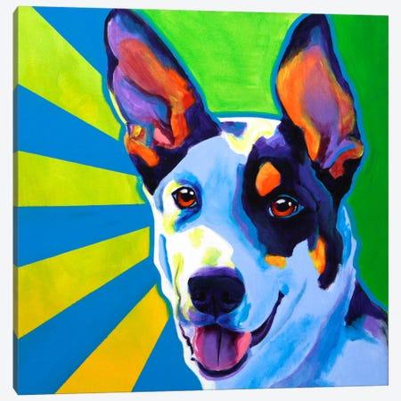 Oakey Canvas Print #14709} by DawgArt Canvas Artwork