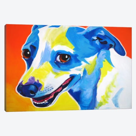 Skippy Canvas Print #14714} by DawgArt Canvas Art