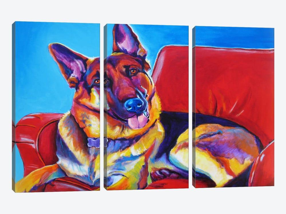 Zeke by DawgArt 3-piece Canvas Artwork