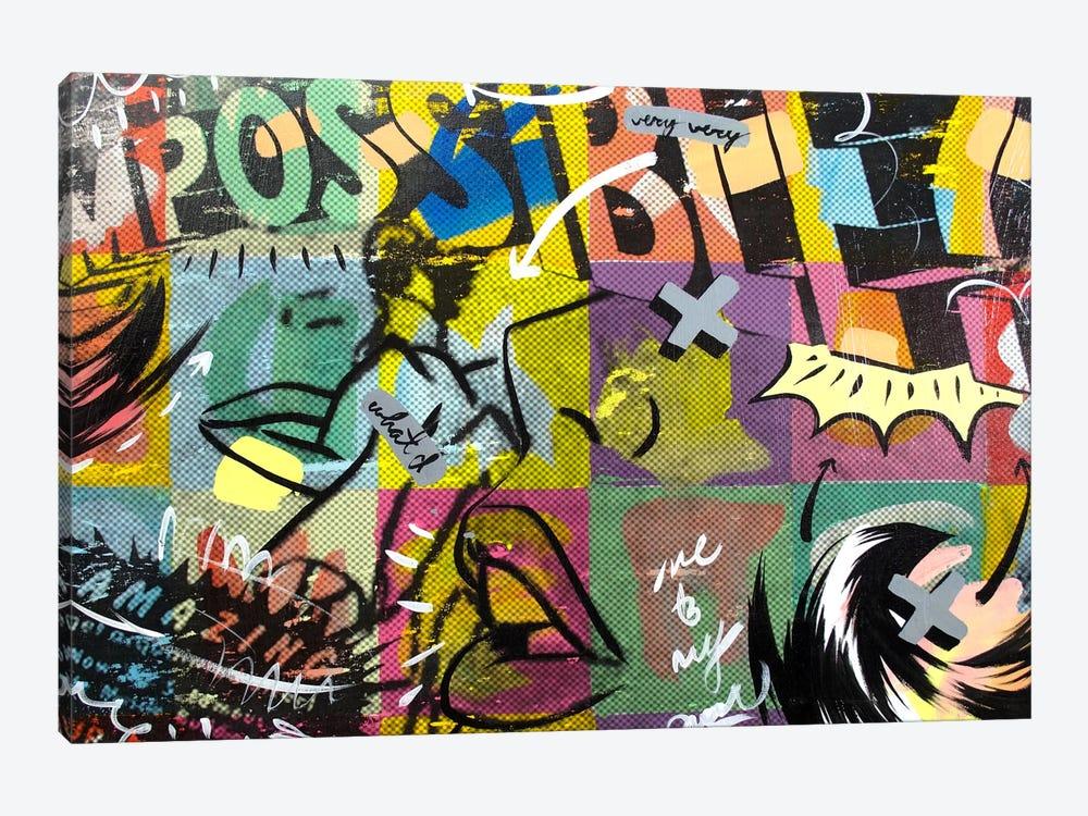 IMPOSSIBLE by Dan Monteavaro 1-piece Art Print