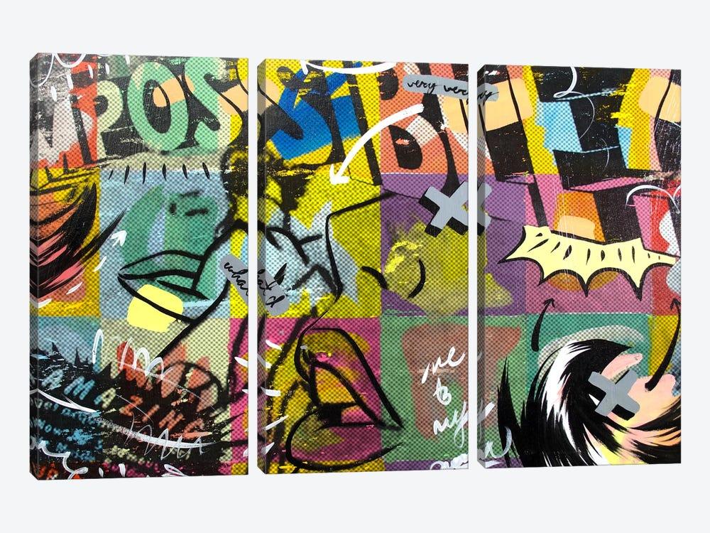 IMPOSSIBLE by Dan Monteavaro 3-piece Art Print