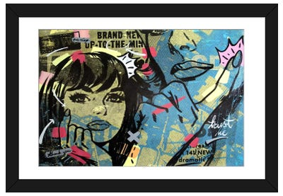 New Dramatic Framed Art Print