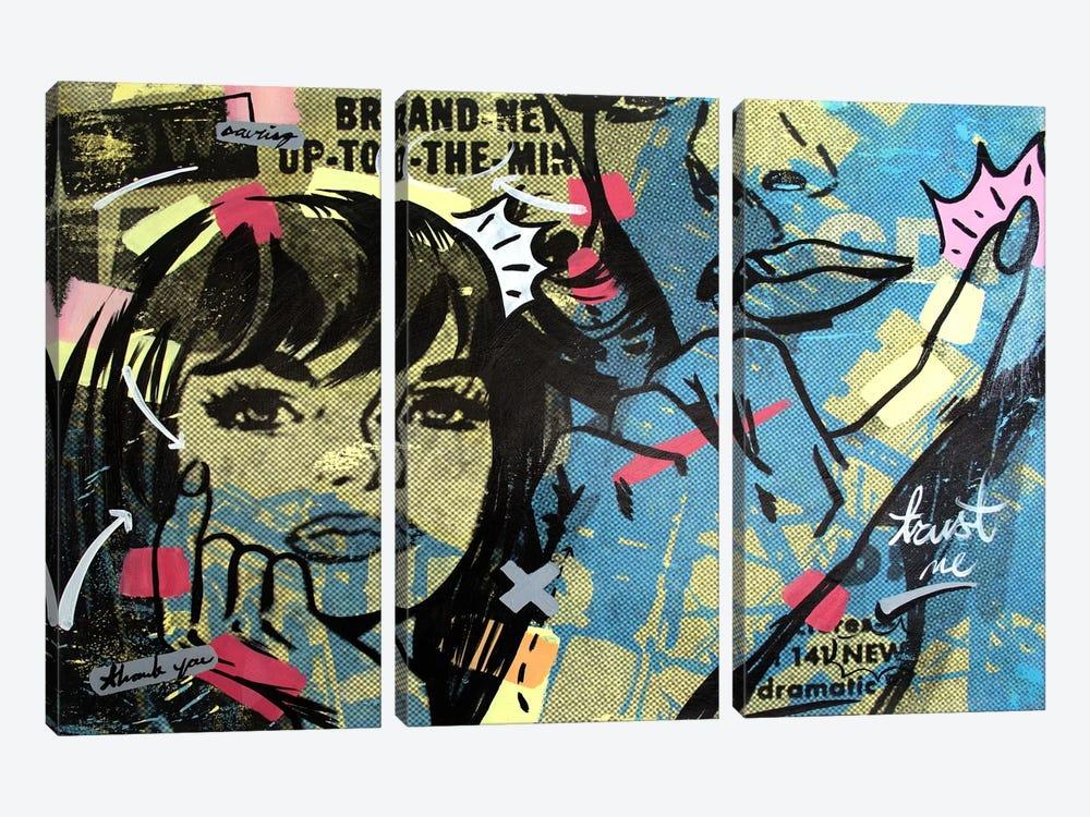 New Dramatic by Dan Monteavaro 3-piece Canvas Art Print