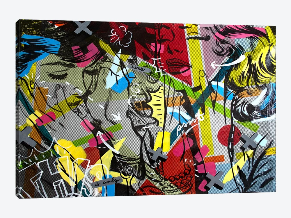 This is Only by Dan Monteavaro 1-piece Canvas Print