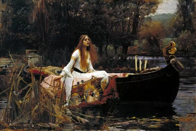 the wife from shalott john william waterhouse research essay