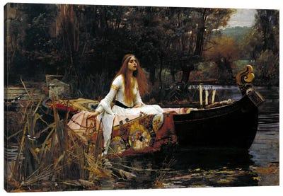 The Lady of Shalott Canvas Art Print