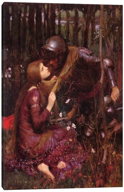 La Belle Dame Sans Merci Canvas Print #1487
