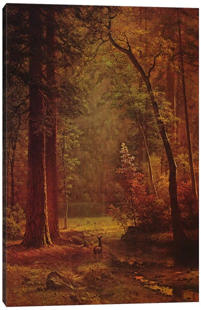 Dogwood by Albert Bierstadt Art Print