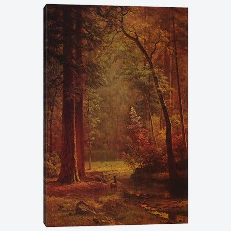 Dogwood Canvas Print #1490} by Albert Bierstadt Art Print
