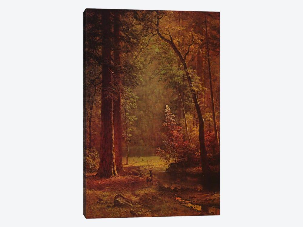 Dogwood by Albert Bierstadt 1-piece Canvas Wall Art