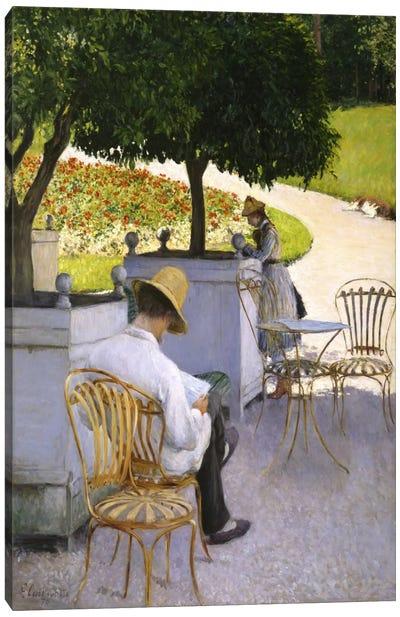 The Orange Trees Canvas Print #15020