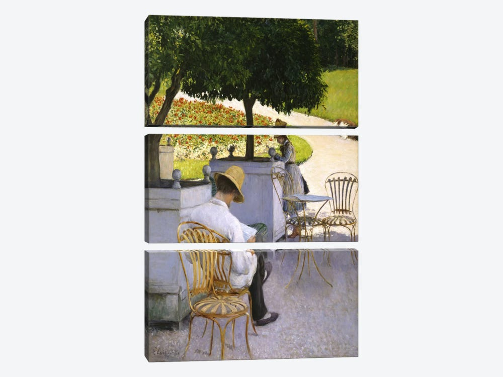The Orange Trees by Gustave Caillebotte 3-piece Canvas Artwork