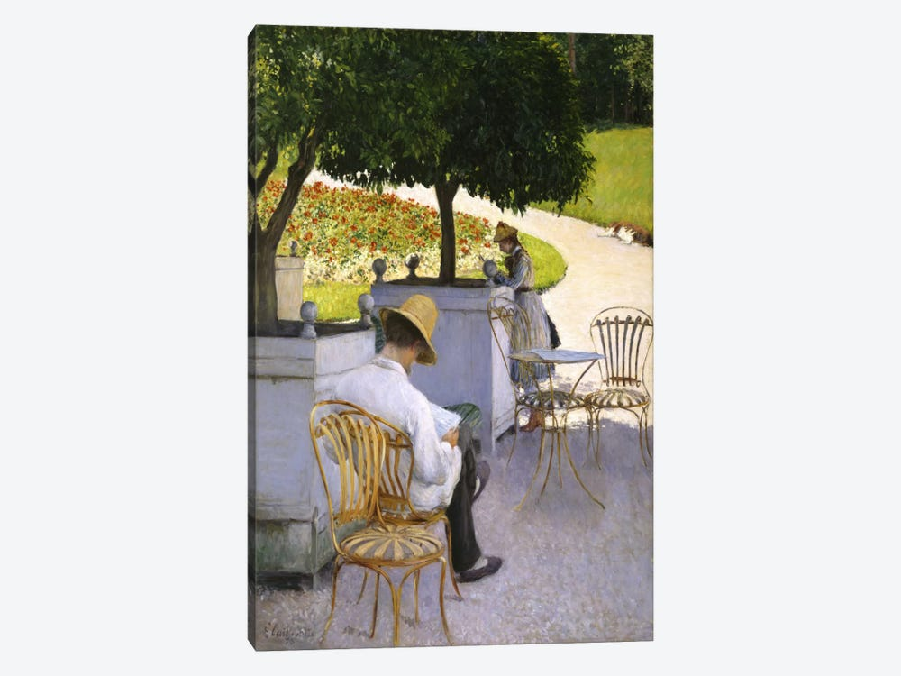 The Orange Trees by Gustave Caillebotte 1-piece Canvas Wall Art